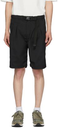 Nonnative Black Explorer Shorts