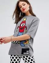 Love Moschino Rocketweiner Wool Mix Jumper