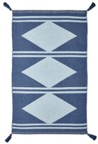 """Thumbnail for your product : Seventh Studio Diamond Stripe 27"""" x 45"""" Accent Rug Bedding"""