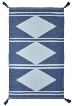 "Seventh Studio Diamond Stripe 27"" x 45"" Accent Rug Bedding"