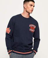 Superdry Split Track Oversized Sweatshirt