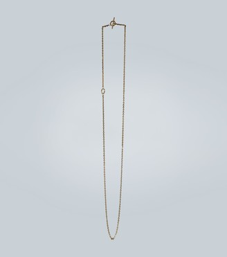 All Blues String gold vermeil necklace