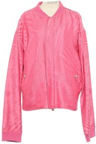 Versace Pink Cotton Jackets