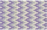 The Well Appointed House Childs Surge Design Hook Rug in Purple-Available in Two Different Sizes