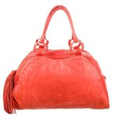 Badgley Mischka Distressed Leather Tote