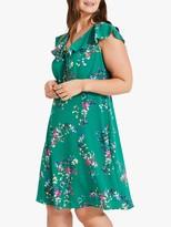 Studio 8 Jessy Floral Dress, Green Multi