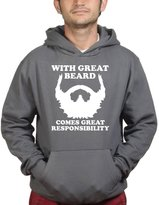 Customised Perfection With Great Beard Hair Ruler Scale Moustache Hipster Hip Hoodie XL