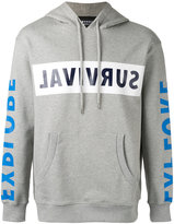 Markus Lupfer Survival Grant hoodie - men - Cotton - XS