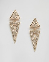NY:LON Gem Embellished Earrings