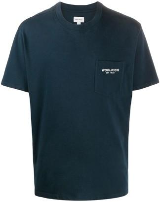 Woolrich patch pocket T-shirt