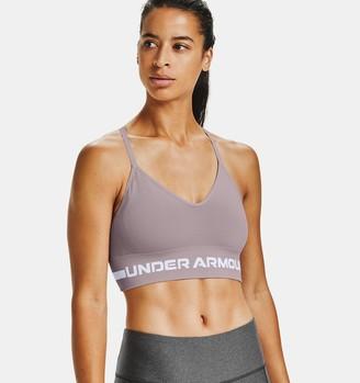 Under Armour Women's UA Seamless Low Long Sports Bra