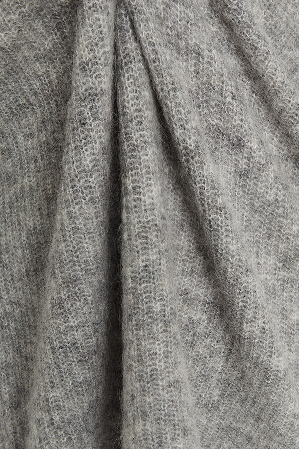 Thumbnail for your product : Ganni Melange Brushed Knitted Sweater