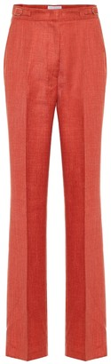 Gabriela Hearst Vesta high-rise wool-blend pants