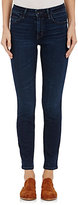 Helmut Lang WOMEN'S ANKLE-LENGTH SKINNY JEANS-NAVY SIZE 26