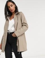 Vero Moda lightweight rain coat in beige