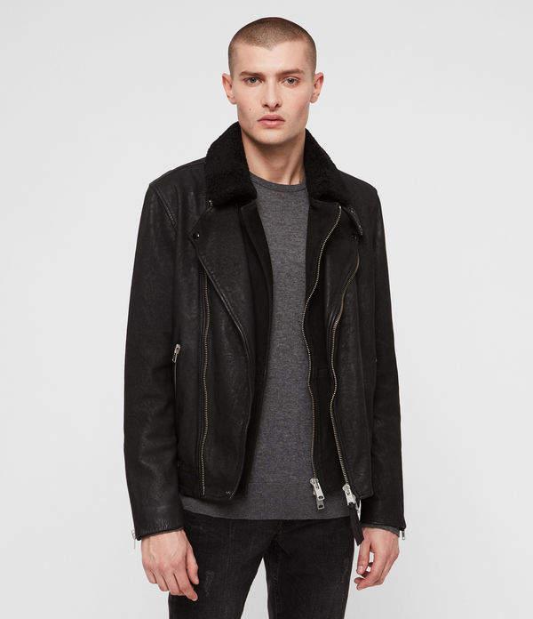 AllSaints Hanoi Leather Biker Jacket