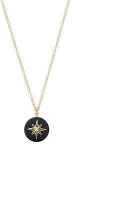 Noush 14ct Yellow Gold North Star Necklace