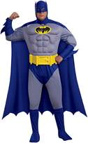 Rubie's Costume Co Costume Batman: The Bold and The Brave Muscle Chest Batman Adult Size