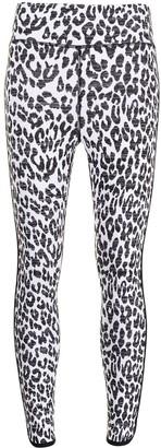 The Upside Snow Leopard Dance Leggings