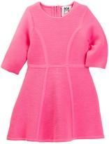 Milly Minis Ottoman Flare Dress (Toddler & Little Girls)
