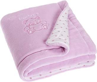 Playshoes 301701-14 Play Mat Embroidered Padded 70 x 100 cm Pink