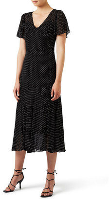 David Lawrence Alexandria Spot Dress