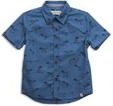 Sovereign Code Boys' La Harpe Dinosaur Print Button Up Shirt - Little Kid