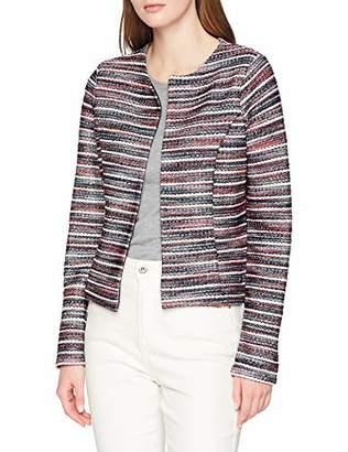 Tom Tailor NOS) Women's 1010344 Suit Jacket, Multicolour (Multicolor Jaquard 172), (Size: X-Large)
