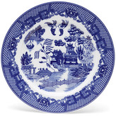 "One Kings Lane 11"" Willow Plate - Blue/White"