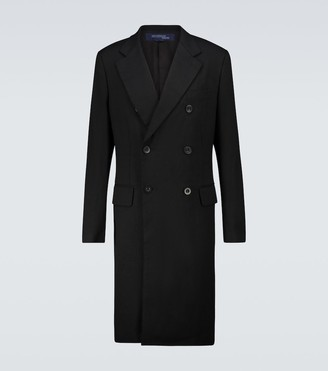 Junya Watanabe Double-breasted overcoat
