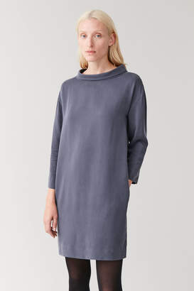 Cos STAND-UP COLLAR DRESS