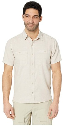 Toad&Co Taj Hemp Short Sleeve Shirt Slim