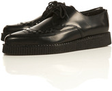 Underground Brothel 'Creeper' Lace Black Shoes