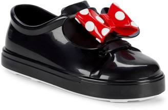 Mini Melissa Baby Girl's & Little Girl's Minnie Mouse Glossy Slip-On Sneakers