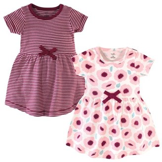 Touched By Nature Touched by Nature Baby and Toddler Girl Organic Dresses, 2pk