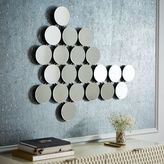 Molecule Mirrored Wall Art