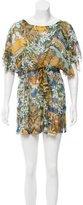 Dolce & Gabbana Silk Printed Dress