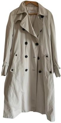 Aquascutum London Beige Coat for Women Vintage