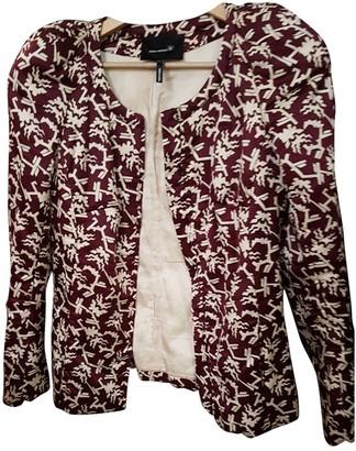 Etoile Isabel Marant Burgundy Cotton Jacket for Women