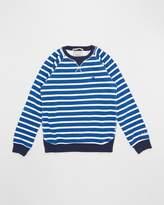 Scotch Shrunk Garment Dyed Crew Neck Sweater - Teens