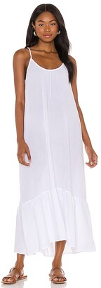 Seafolly Double Cloth Midi Slip Dress
