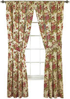 Waverly Norfolk 2-Pack Floral Curtain Panels