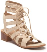 Nicole Miller Mason Lace-Up Block Heel Sandal (Little Kid & Big Kid)