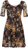 Izabel London Floral Lace Dress
