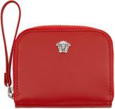 Versace Red Medusa Zip Wallet
