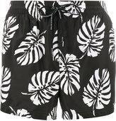 Dolce & Gabbana palm print swim shorts - men - Polyester/Nylon - 3
