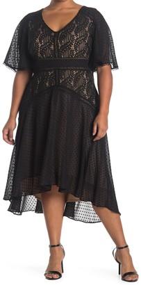 Taylor Lace Asymmetrical Dress