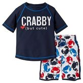Just One You® made by Carter's Just One You Made by Carter's Toddler Boys' Crab Rash Guard Swimsuit Set