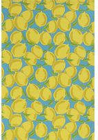 Crate & Barrel Sicilian Lemon Dishtowel
