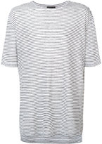ATM Anthony Thomas Melillo striped T-shirt - men - Linen/Flax - S